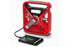 Red Cross Emergency Radio with Cell Phone Charger