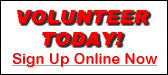 Be A Volunteer - Sign Up Online Now!